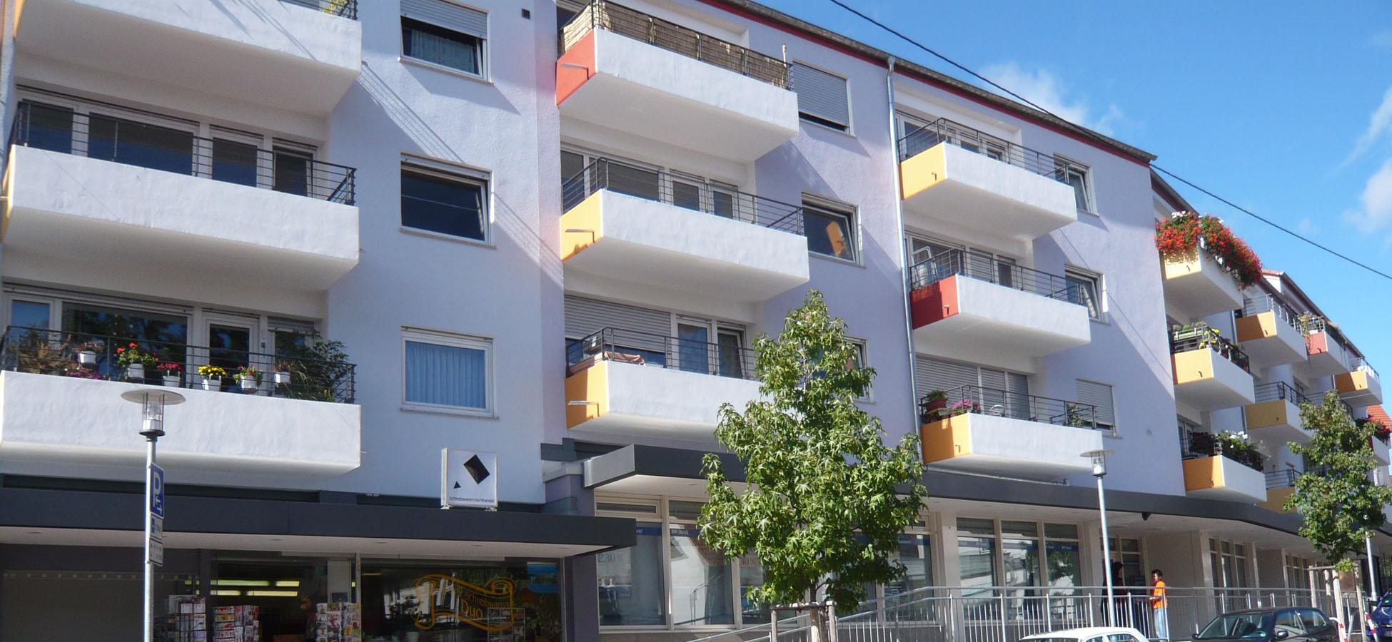 plan 11 Building Lab Stuttgart, Fassadensanierung Plattenhardt