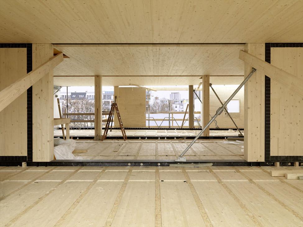 Moderner Holzbau Berlin, Foto Borchardt