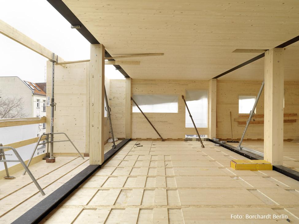 Moderner Holzbau
